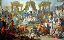 The Chinese Marriage, or An Audience with the Emperor of China von Francois Boucher