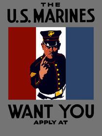 The U.S. Marines Want You von warishellstore