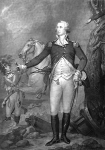 General George Washington At Trenton von warishellstore