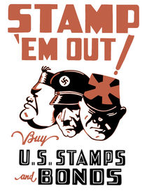 Stamp 'Em Out! Buy U.S. Stamps and Bonds von warishellstore