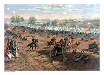 The Battle of Gettysburg  von warishellstore