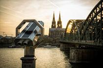 Ausblicke auf Köln von Kai Schneiders