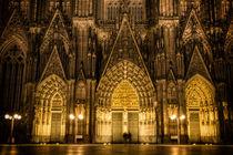 Kölner Dom bei Nacht von Kai Schneiders