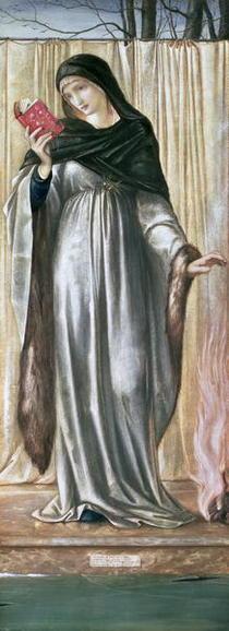 Winter von Sir Edward Burne-Jones