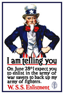 Uncle Sam -- I Am Telling You by warishellstore