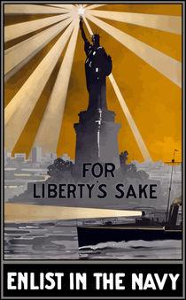 Enlist In The Navy -- For Liberty's Sake von warishellstore