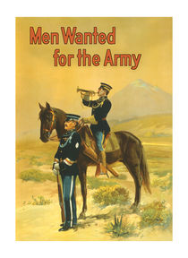 Men Wanted For The Army -- WWI von warishellstore