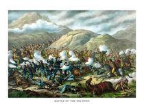 Battle Of The Big Horn -- General Custer by warishellstore