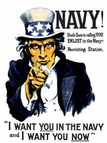 I Want You In The Navy -- Uncle Sam von warishellstore