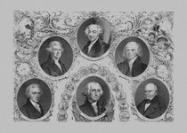 First Six U.S. Presidents von warishellstore