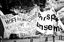 Demonstration von Arthur Prymov
