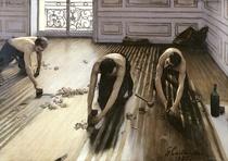 The Parquet Planers von Gustave Caillebotte