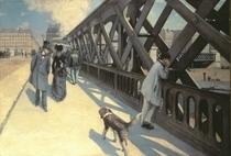 Le Pont de L`Europe by Gustave Caillebotte