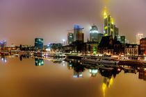 Frankfurt am Main bei Nacht by Sandro Mischuda