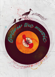 Follow the music by Sybille Sterk