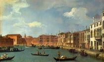 View of the Canal of Santa Chiara von Giovanni Antonio Canal Canaletto