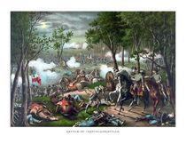 Battle of Chancellorsville -- Death Of Stonewall Jackson von warishellstore