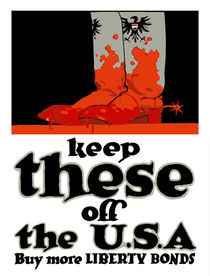Keep These Off The USA -- WWI von warishellstore