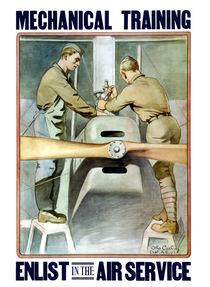Enlist In The Air Service -- WW1 von warishellstore