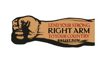Lend Your Strong Right Arm -- Enlist Now von warishellstore