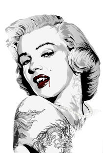 Marilyn Vamp by artwarriors