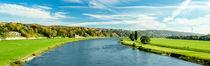 Flusslandschaft der Elbe in Dresden von imbild-verlag