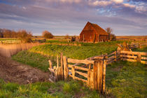 Old barn on the island of Texel, The Netherlands von Sara Winter