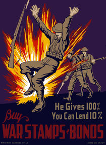 He Gives 100% You Can Lend 10% - WW2 von warishellstore