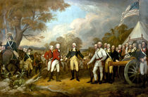The Surrender of General Burgoyne by warishellstore