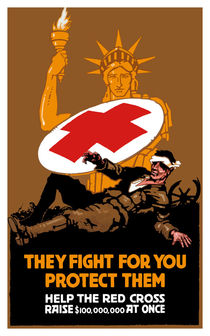 Protect Them -- Help The Red Cross von warishellstore