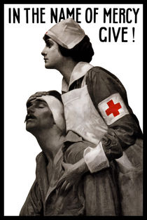 In The Name Of Mercy Give -- Red Cross von warishellstore