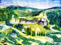Österreich Tal by Irina Usova