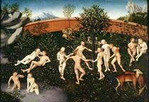 The Golden Age by Lucas Cranach the Elder