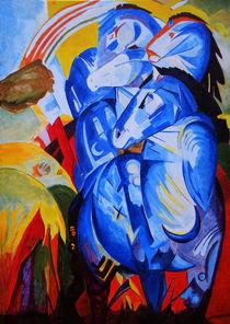 Turm der blauen Pferde von Eike Holtzhauer