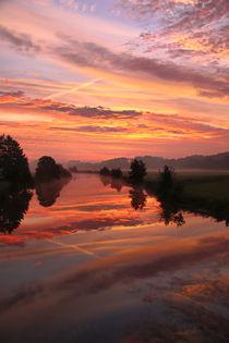 Die Farben vor Sonnenaufgang von Bernhard Kaiser