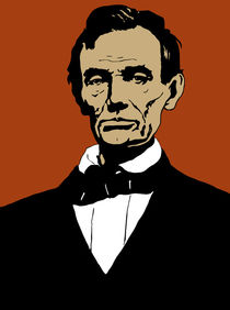 President Abraham Lincoln by warishellstore