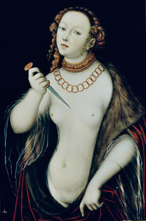 The Suicide of Lucretia by Lucas Cranach the Elder