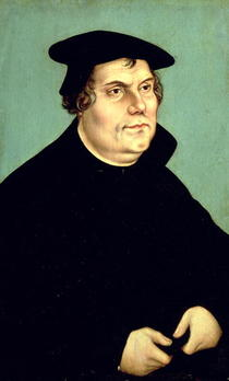 Martin Luther  by Lucas Cranach the Elder