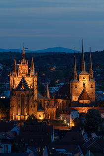 Erfurter Dom @ night by anneliese-photography