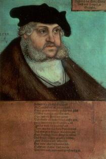 Friedrich III, the Wise by Lucas Cranach the Elder