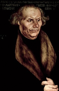 Hans Luther  by Lucas Cranach the Elder