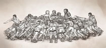 Rugby von Matthias Oechsl