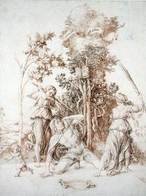 The Death of Orpheus by Albrecht Dürer