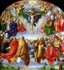 The Landauer Altarpiece, All Saints Day by Albrecht Dürer
