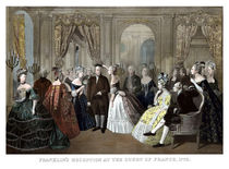 Franklin's Reception At The Court Of France by warishellstore