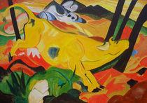 gelbe Kuh von Eike Holtzhauer