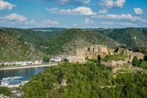 St. Goar - Festung Rheinfels 600 by Erhard Hess