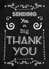 Big Thank You Greetings by dragonfire-graphics