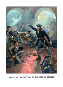 737-ulysses-grant-at-the-capture-of-city-of-mexico-painting