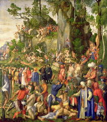 Martyrdom of the Ten Thousand by Albrecht Dürer
